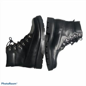 Grenson Rutherford Calf Leather Hiking Boot NIB